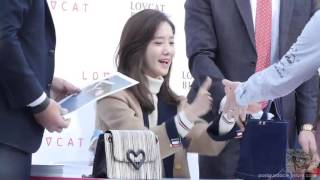 Yoona LovCat Fansign Event on 151024