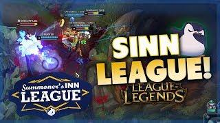 SO sehen unsere SINN League Games aus.. | League of Legends