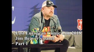 EECC 2018 - Jim Beaver speaks Japanese, talks about the two Bobby and kissing Mark Sheppard