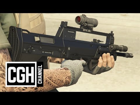 Doomsday Heists Mark 2 Weapons Test - GTA Online