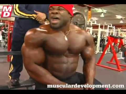 Kai Greene – Fun in the gym.