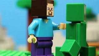LEGO Stop Motion Animation Movie 2019 Minecraft Compilation! Funny LEGO brickfilms