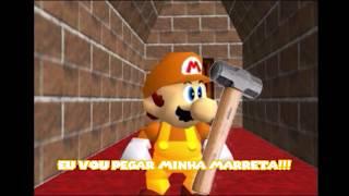 Super Mario 64 Bloopers BR #23 - PC em apuros!