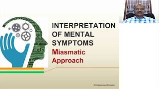 Conversion of Mental Symptoms into Repertorial Language and Comparison of Mind Rubrics Part -1