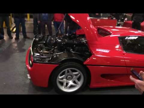 Ferrari F50 Tubi De-cat Rev Redline No Silencer 4.7 V12 F1 video