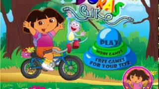 Baby Driver_How To Drive A Bike _Dora Games Nick Jr