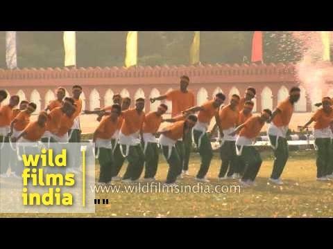 NCC National Games closing ceremony at Parade Ground - Delhi
