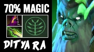 MAGIC AMPLIFICATION Necrophos Ditya Ra Intense Game Dota2 patch 7.01