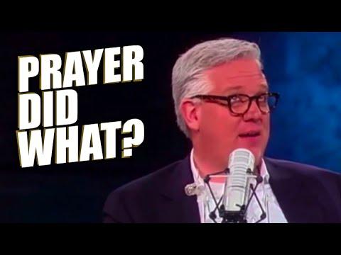 Glenn Beck Out Of His Becking Mind - Prayer Floods? Huh?