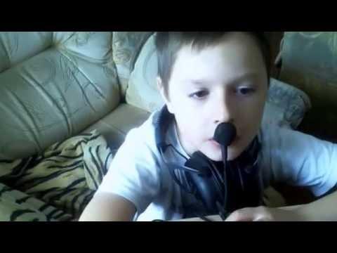 мою первое видео на YouTube