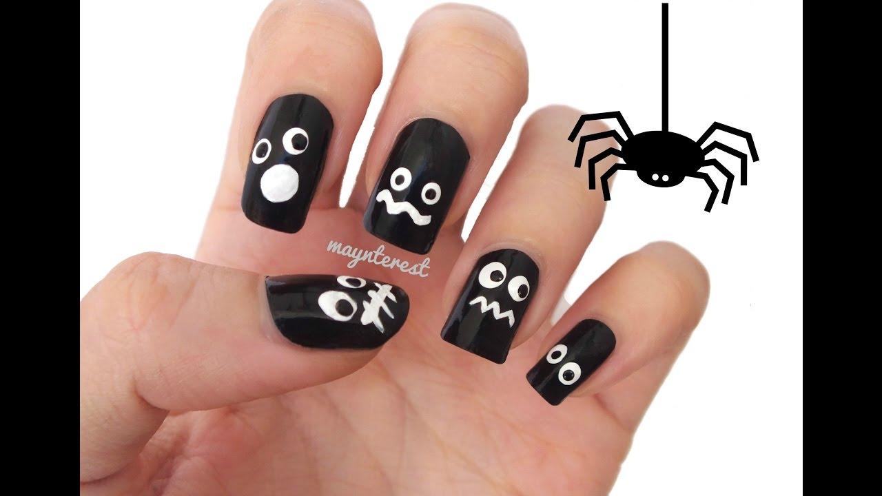 Dise o de u as con ojos eyes nail art youtube - Disenos de unas pintadas ...
