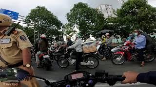 Camera Đời Thường #3 Biker bất ngờ khi gặp CSGT đội 363 giữa ban ngày | motovlog