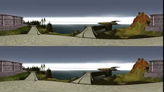 Myst Island Rocket Path 360º/3D