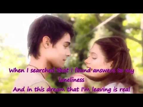 I Love You // Te Creo Lyrics On Screen - Violetta