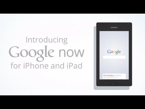 Google Now for iPhone and iPad