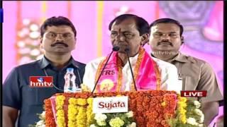 CM KCR Excellent Speech in TRS Pragathi Nivedhana Sabha | Warangal