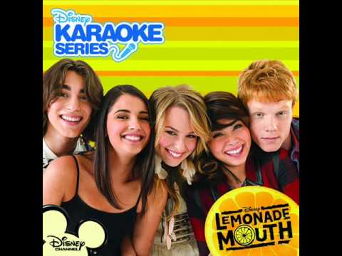 Lemonade Mouth - More Than A Band (karaoke instrumental) video