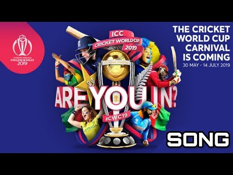 ICC cricket world cup cricket theme song, #cwc19 #icc