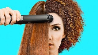 33 AWESOME HAIR HACKS TO BECOME A PROFESSIONAL STYLIST 5 MINUTE CRAFTS INDIA