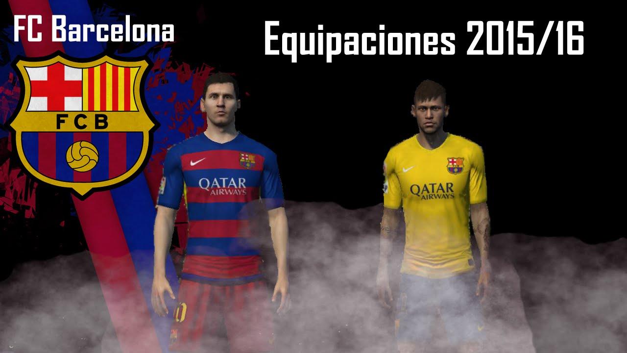 fc Barcelona 2015 2016 Kits