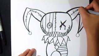 Xmunox - Comment dessiner joker ...