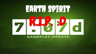 НОВЫЙ ПАТЧ 7.07d !Earth spirit ЖИВИ!:D