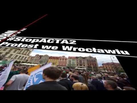 #StopACTA2 – Protest We Wrocławiu