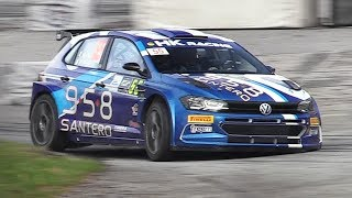 NEW VW Polo GTI R5 Rally Car in action! Sound, Accelerations, Turbo Anti-Lag & More!