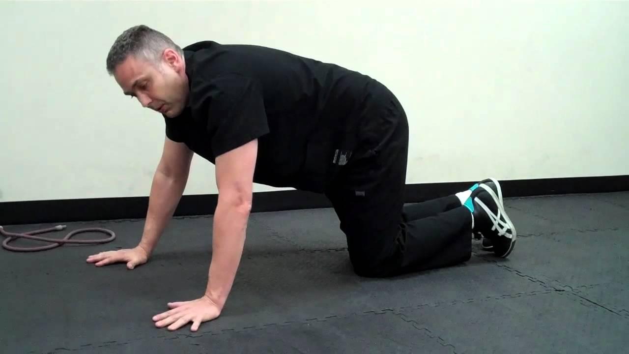 shoulder blade strengthening exercise