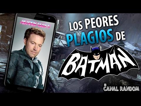Los peores Plagios de Batman juegos para movil gratis Android
