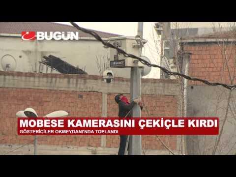 BERKİN ELVAN PROTESTOSUNA POLİS MÜDAHALESİ