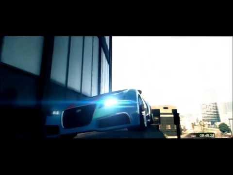 Трюки в GTA 5   GTA 5 Amazing STUNT MONTAGE 3