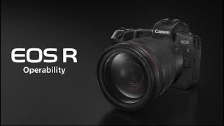 Canon EOS R System Operability