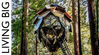 The Pinecone Treehouse: A Spectacular Tiny Home In The Trees