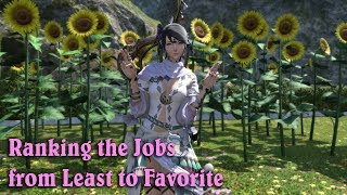 FFXIV: Stormblood - Tsuki Ranks the Jobs from Least to Favorite