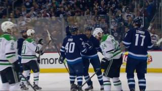 Dallas Stars vs Winnipeg Jets - February 14, 2017 | Game Highlights | NHL 2016/17
