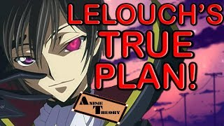 Anime Theory: Lelouch's TRUE PLAN! (Code Geass Theory)
