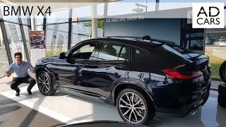 2018 BMW X4 xDrive M Sport - BRUTAL Start up - Interior and Exterior Review