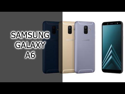 Обзор Samsung Galaxy A6 (2018)