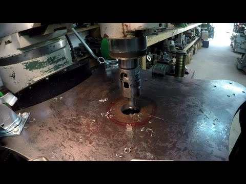 Rotary Welding Table Build Part 11