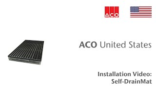 "ACO ""How To"" Series: Self - DrainMat Install"