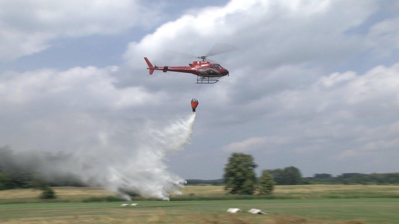 Loty patrolowo-gaśnicze z dofinansowaniem