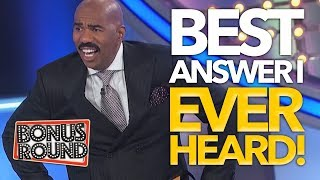 Download Song BEST ANSWERS STEVE HARVEY Has EVER Heard On Family Feud USA Free StafaMp3
