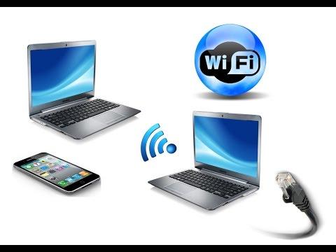 Как сделать свой ноутбук wi fi 394