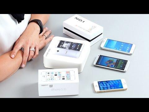 HTC One. Galaxy S5. iPhone 5s - Fake Smartphones - Test deutsch CHIP