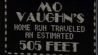 ATL@NYM: Vaughn's homer hits halfway up scoreboard