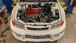 BUILT EVO 5 ENGINE KEEPS ESCALATING