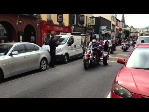 Ireland BikeFest Killarney 2014 Drive through Part1