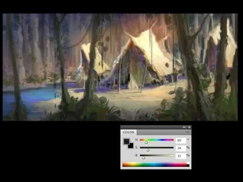 Digital Painting Sketch and Tips