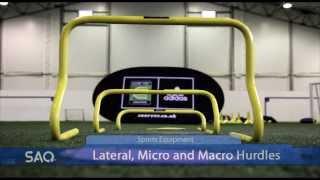SAQ®  Hurdles Sports Equipment product promo video :(Speed, Agility, Quickness (SAQ®)